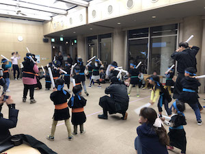 忍者教室_ジャカジャカ忍者3