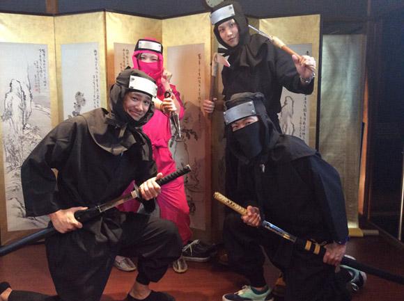 忍者衣装変身3